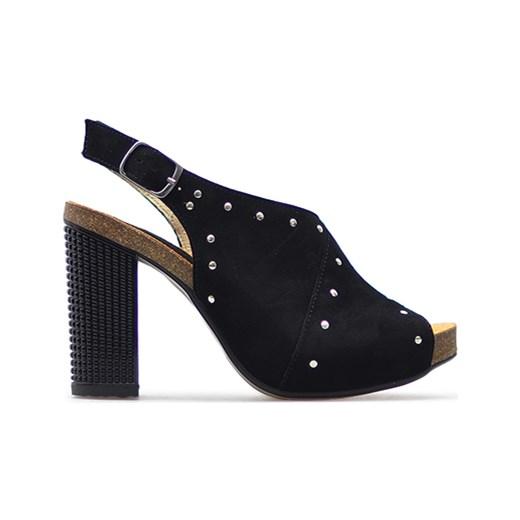 1d2e3e59fb324 ... Sandały Libero 9345/135 Czarne zamsz Libero Arturo-obuwie ...