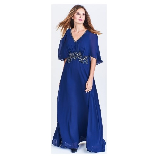 a8ddbf225c Suknia wieczorowa z nietoperzowym rękawem Pretty Women ptakmoda.com w Domodi