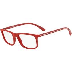 7c4bdd451f7a Czerwone okulary korekcyjne męskie emporio armani