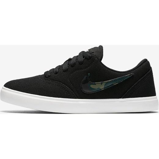 Nowoczesna architektura Buty Nike SB Check Canvas (GS) Skateboarding 905373 010 adrenaline ZV05