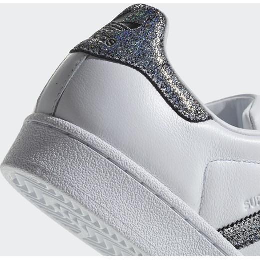 Marka Moda Buty damskie adidas Superstar White Black CG5455