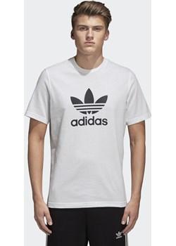 Koszulka adidas Originals Trefoil CW0710 szary Adidas Originals adrenaline.pl - kod rabatowy
