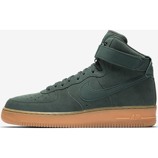 best sneakers 039e3 34581 Buty męskie Nike Air Force 1 High 07 LV8 Suede Vintage GreenGum AA1118 ...