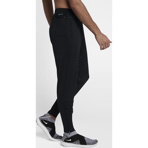 39d6c33ec1da ... Spodnie męskie Nike Essential Knit Running Pants 856898 010 Nike XL  adrenaline.pl ...
