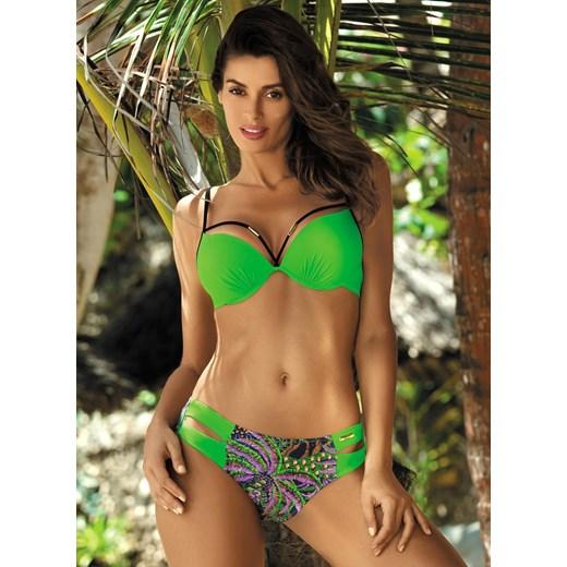 58169564bdda33 Strój kąpielowy Samantha Bright Green M-407 (1) - zielony Marko S  Bikinarium ...