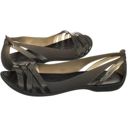 54ef3a017 Sandały Crocs Isabella Huarache 2 Flat W Black 204912-060 (CR143-c ...