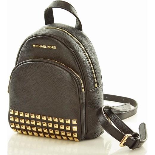 eb25c378752ca Plecak backpack Abbey MICHAEL KORS BLACK Michael Kors wyprzedaż Verostilo  ...