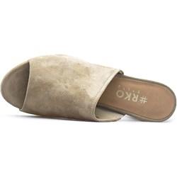 d1d9af70bdbb3 Brązowe buty ryłko bez zapięcia, wiosna 2019 w Domodi