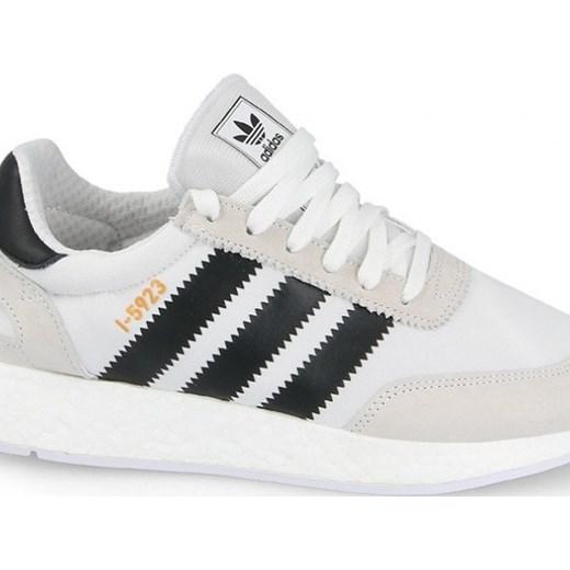 Buty m?skie sneakersy adidas Originals I 5923 Iniki Runner CQ2489 BIA?Y szary sneakerstudio.pl