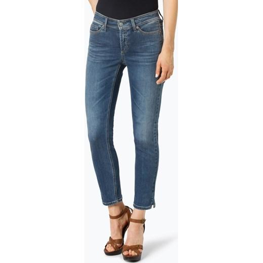 Cambio - Jeansy damskie – Piper, niebieski vangraaf Odzież Damska AZ niebieski Jeansy damskie SFJY piękny