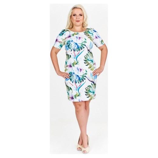 212c712b5e Sukienka pudełkowa w kwiaty M m ptakmoda.com w Domodi