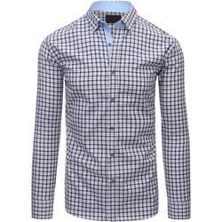 1b450f52db069 Szare koszule w kratę męskie długi rękaw, lato 2019 w Domodi