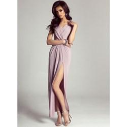 245256f781 Sukienka Ivon bez wzorów maxi