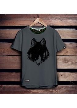 Koszulka męska - WILK SZARY S   Szwendam się - kod rabatowy