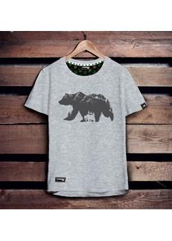 Koszulka męska - NIEDŹWIEDŹ BRUNATNY S   Szwendam się - kod rabatowy