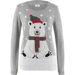065cb0d82df74a Sweter damski Only w świąteczne wzory w stylu glamour w Domodi