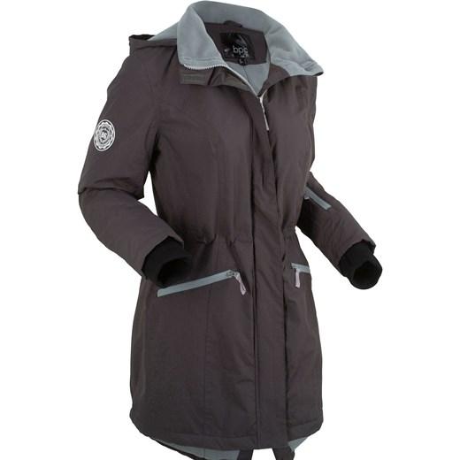 0dc4b884e50a0 Długa kurtka funkcyjna outdoorowa BPC Collection szary bonprix w Domodi