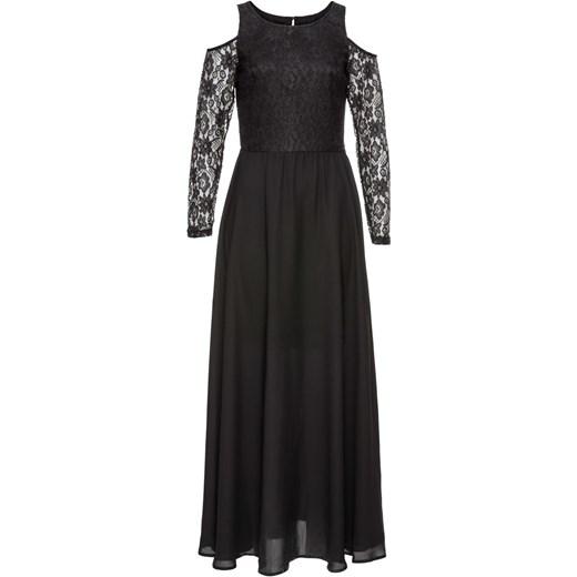 7db8fe2903 Sukienka z koronką i plisowaną częścią spódnicową Bonprix Bodyflirt Boutique