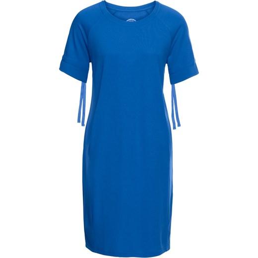7773a39eb6 Sukienka z lekkiej dzianiny dresowej