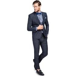 de20c35dadf40 Granatowe garnitury męskie giacomo conti, lato 2019 w Domodi