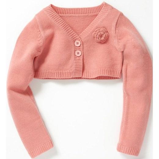 28e624e579 Bolerko niemowlęce dziecięce dla dziewczynek la-redoute-pl pomaranczowy  dziecięce