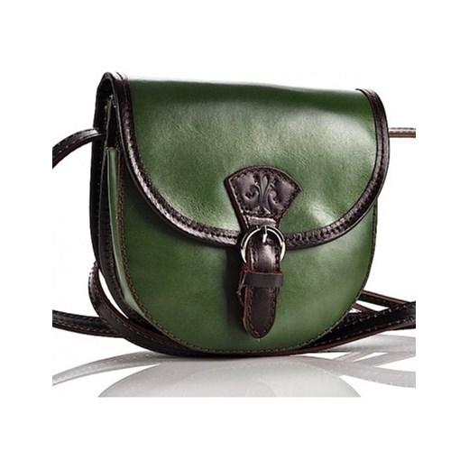 4025f3d9c6602 ... długim pasku Mała torebka skórzana. PICCOLA laza zielony listonoszki ...