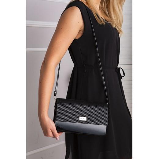 51d8437eca4c0 ... Kopertówka CARLA BERRY czarna czarny Made2wear promocja ...