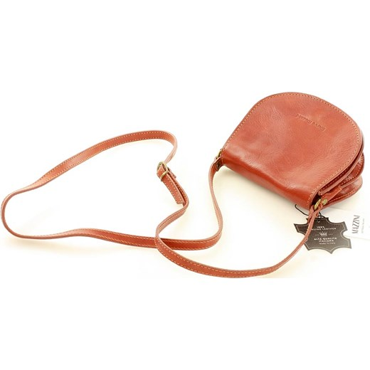 b58db2a90c4a8 ... Klasyczna torebka skórzana listonoszka MARCO MAZZINI - Cremona camel  Mazzini promocja Verostilo