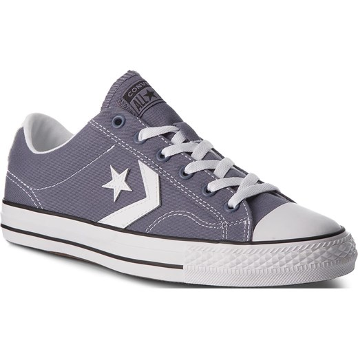 Trampki CONVERSE - Star Player Ox 160557C Light Carbon/White/Black Converse  42 eobuwie.pl promocja