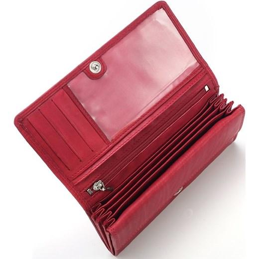 c8b64d3519541 ... Szary Elegancki skórzany portfel damskie Idealny na prezent Money Maker  czerwony One Size merg.pl ...