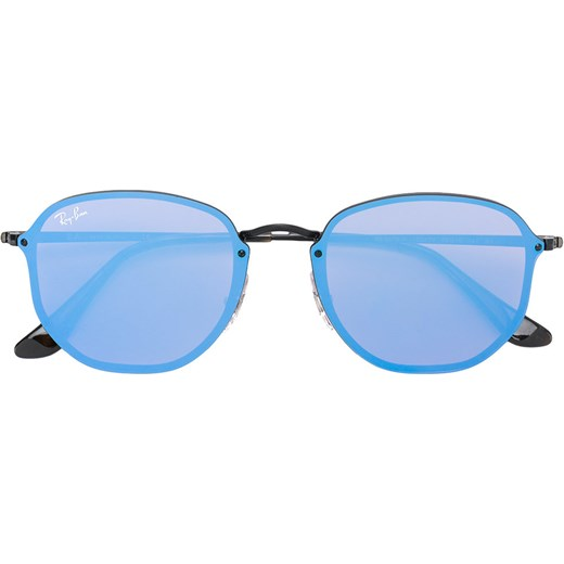 21e2963f59 Ray-Ban Blaze Hexagonal sunglasses - Blue Ray-Ban 58 Farfetch ...