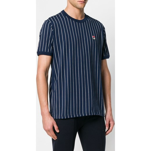 3cc6ebc711 ... Fila striped logo T-shirt - Blue Fila L Farfetch ...