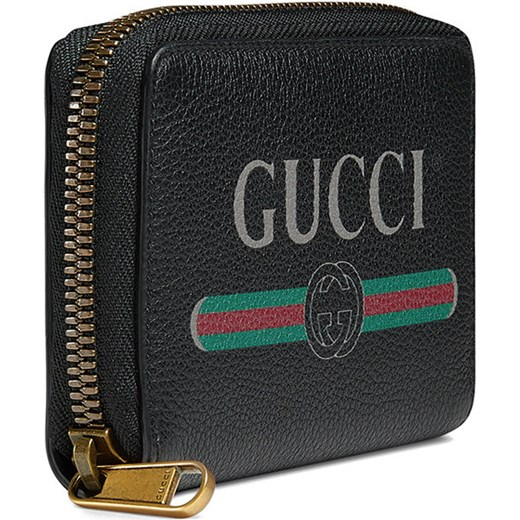 ... Gucci Gucci Print leather card case - Black Gucci One Size Farfetch ... f4c2b31f617