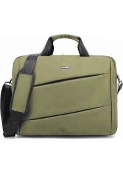 "Torba Coolbell Crossbody na laptopa 15,6"" Kolor: zielony  Coolbell inBag - kod rabatowy"