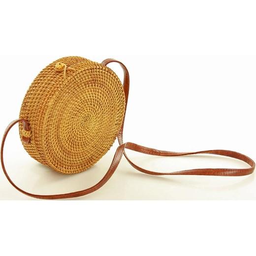 6c905add84e1e ... Koszyk torebka pleciona kuferek ratan bambus MAZZINI - natura Verostilo  okazja ...