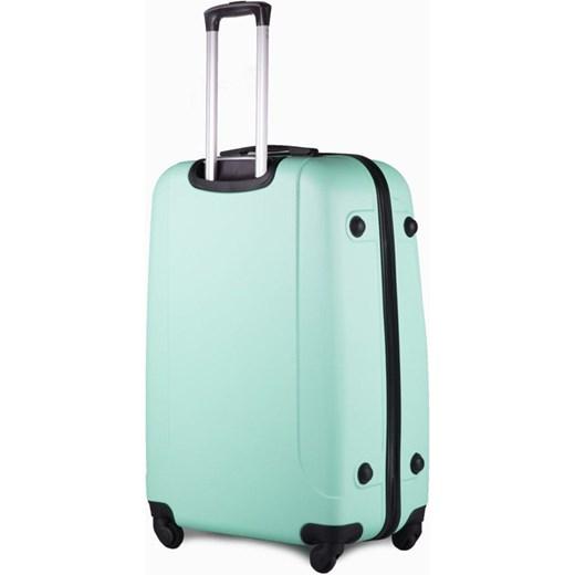 df37cfe6fa431 Duża walizka podróżna na kółkach SOLIER STL310 L ABS jasnozielona Solier  Skorzana.com ...