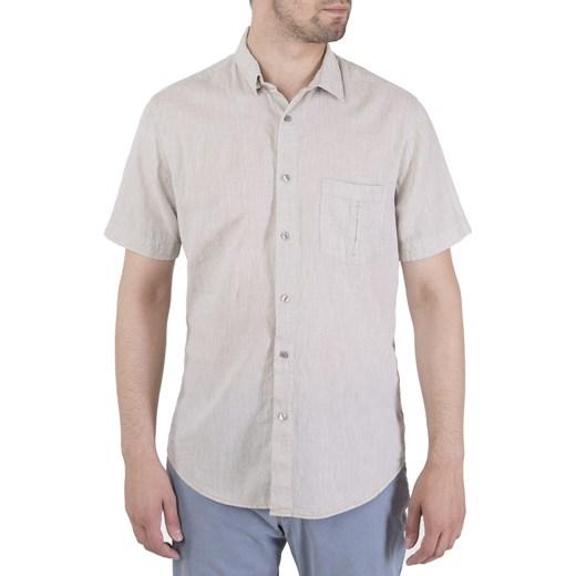 2029ba589 Koszula KS380 len z bawełną beż Roy L Sklep ROY ...