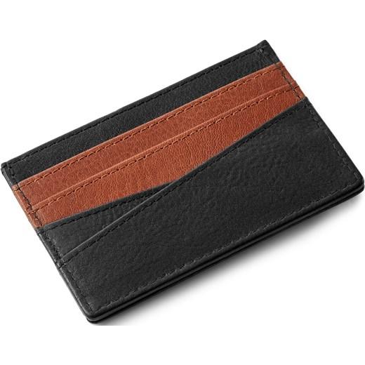 50aa067cb Skórzane czarne etui na karty RFID Lacey Lucleon Trendhim w Domodi