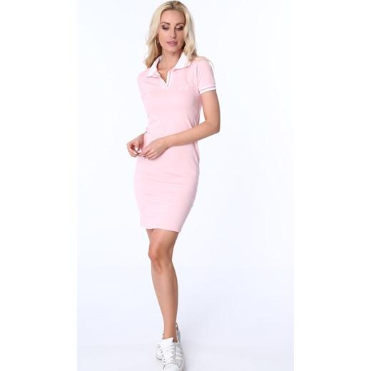 0b9403cdf4 ... Sukienka polo jasnoróżowa 3810 fasardi S fasardi.com ...