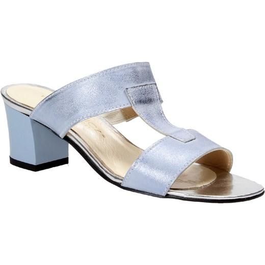 b2ba03cfe88eb ... Niebieskie klapki damskie WOJTOWICZ Wojtowicz 36 okazyjna cena Wojtowicz  Awangarda Shoes