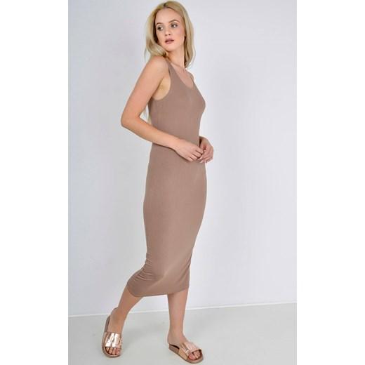 2069cf2c82 Gładka sukienka midi Zoio L XL okazyjna cena zoio.pl ...