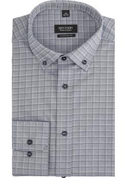 koszula versone 2757 długi rękaw custom fit niebieski  Recman  - kod rabatowy