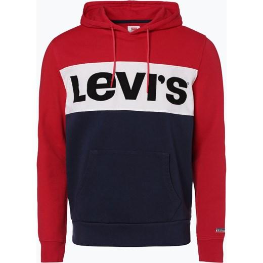 c54fc9e24 Levi's - Męska bluza nierozpinana, czerwony Levis vangraaf w Domodi
