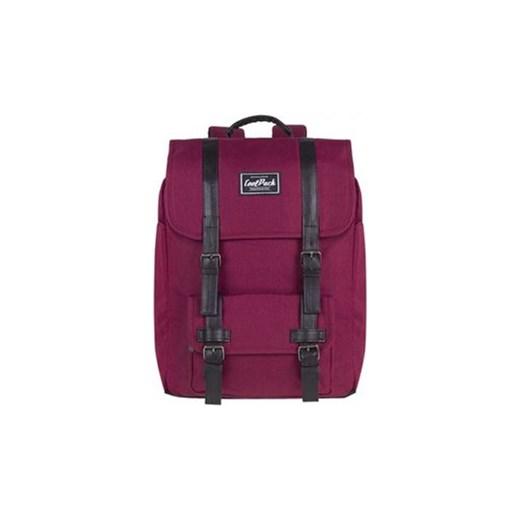 5bcd25e62428d Bordowy plecak miejski CoolPack Traffic Burgundy Coolpack Bagażowo.pl ...