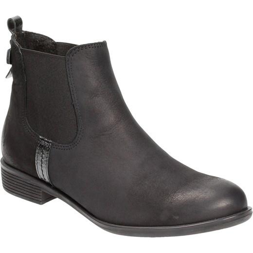 2b00863569552 ... Czarne sztyblety damskie KARINO Karino szary 39 Wojtowicz Awangarda  Shoes