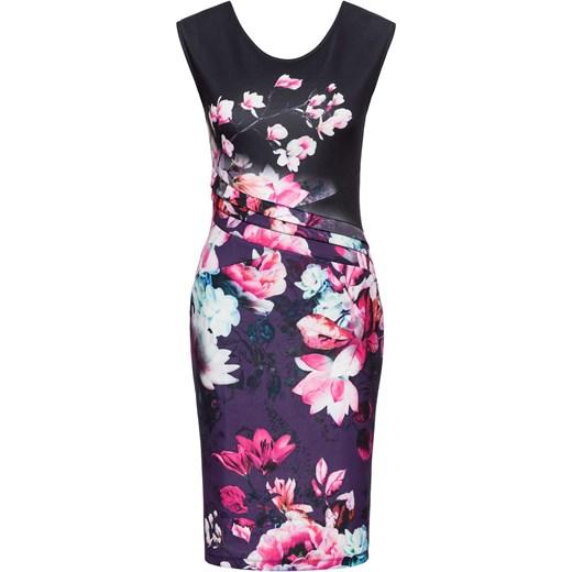 2ebdb699 Sukienka w kwiaty Bonprix Bodyflirt Boutique