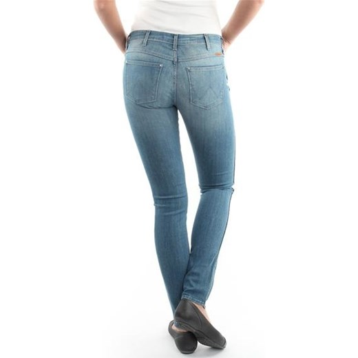 szyk Spodnie Wrangler 25FX858X Corynn Butomaniak.pl Odzież Damska SW niebieski Jeansy damskie FRUM
