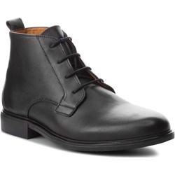 767f3bd7 Trzewiki CLARKS - Banbury Mid 261354247 Black Leather eobuwie.pl w ...