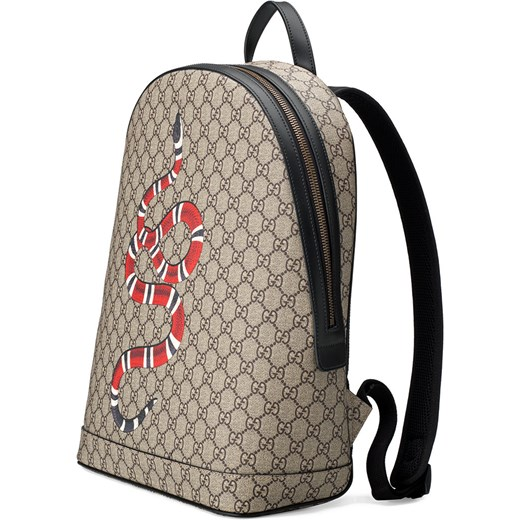 4527814cac679 ... Gucci Kingsnake print GG Supreme backpack - Nude & Neutrals Gucci One  Size Farfetch ...