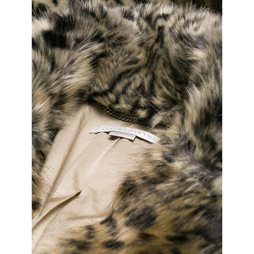 3f1d90c73e39d ... Stella McCartney leopard print faux-fur coat - Brown Stella Mccartney  36 Farfetch ...